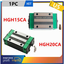 1x Hgh15ca Hgh20ca Carriage Rail Block Slider For Hgr1520 Linear Rail Guide Cnc