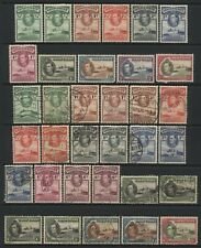 Gold Coast 1938 Collection 34 KGVI Values Used / Unused Mounted