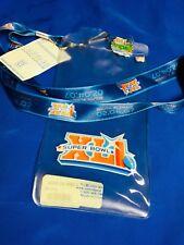 NFL Indianapolis Colts SUPER BOWL XLI Ticket Holder Lanyard & EVENT LOGO PIN New