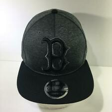 MLB Boston Red Sox New Era 9Fifty Black Snapback Cap Hat OSFM NWOT