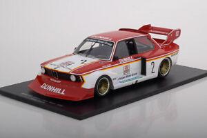 1/18 Scale Spark BMW 320i Turbo #2 Hans-Joachim Stuck Winner Guia Race Macau