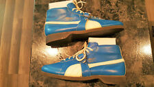 RARE VINTAGE PUMA SPECIAL 657, WEST GERMANY, BLUE LEATHER SHOES SIZE 10, NEW!!!