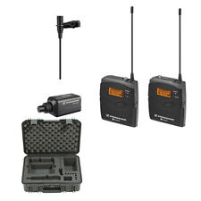 Sennheiser EW100ENGG3-A Wireless Microphone System A (516-558 MHz) + SKB Case
