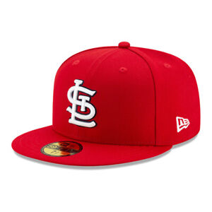 New Era 59Fifty St. Louis Cardinals GAME Fitted Hat (Red) Men's MLB Cap