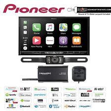 Pioneer Avic-W8500Nex Navigation w/ SiriusXm Tuner & License Plate Backup Camera