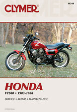 HONDA VT500 500 ASCOT,SHADOW,EURO SPORT REPAIR MANUAL 83-88, M344