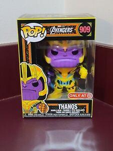Funko POP! Marvel: Infinity Saga Thanos Black Light #909 Target Exclusive N Hand
