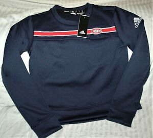 Montreal Canadiens Adidas Aeroready sweatshirt NEW With TAGS NHL women's small