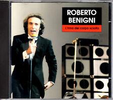 ROBERTO BENIGNI l'inno del corpo sciolto CD singolo Philips RARISSIMO