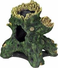 New listing Exotic Environments Hollow Tree Stump Aquarium Ornament