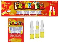 Practical Joke Stink Bombs Kids Novelty Prank Fart Smelly Rotten Egg Tricks Toy