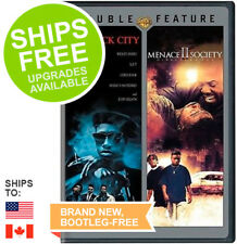 New Jack City / Menace II Society Directors Cut (DVD 2016) NEW, Double Feature