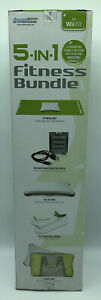 5-in-1 Fitness Bundle for Nintendo Wii Fit by DreamGEAR Battery Pack Mat Travel