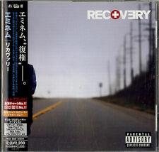 Eminem Recovery CD album (CDLP) Japanese promo UICS-1214 UNIVERSAL 2010