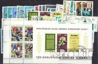DDR gestempelt 1968 kompletter Jahrgang in sauberer Erhaltung