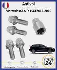 Ecrous antivol de roues Mercedes GLA (X156) 2014-2019