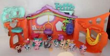LOT LITTLEST PET SHOP LPS HOUSE PLAYSET FIGURES PIG SQUIRREL SLED FAWN DEER