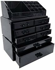 Acrylic Makeup Cosmetic Organizer Storage Drawers Display Boxes Case Jewelry