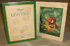 LION KING ~ ANIMATION ART GALLERY-ONLY DISNEY FINE ART LITHO WITH FOLDER