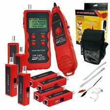 Multifunction Cable Tester Wire Tracker 8 Remote Adaptor Network Ethernet LAN CA