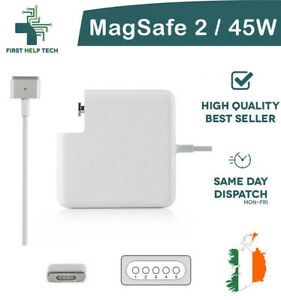 Replacement 45W MagSafe 2 Power Adapter Charger For Apple MacBook Air A1436 New
