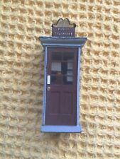More details for vintage resin sir gilbert scott 1924 miniature telephone box kiosk for railways