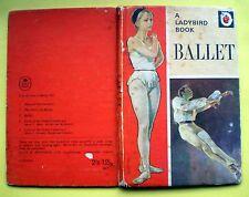 Ballet Ladybird vintage book Series 662 hobbies dance dancing history opera