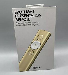 Logitech Computers & Accessories Spotlight Presentation Remote gold