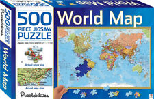 Puzzlebilities World Map 500 Pieces Jigsaw Puzzle (9781743633434)