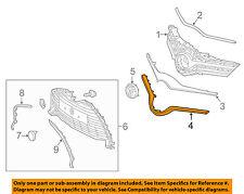 TOYOTA OEM 15-16 Yaris Front Bumper Grille-Lower Molding Trim 531210D250