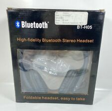High-fidelity Bluetooth Stereo Headset BT-H05