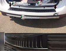 Modanatura Protezione soglia paraurti acciaio nero/lucido Dacia Duster 4x4 4x2
