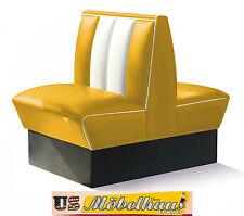 HW-70DB-Yel Américain Banc de salle à manger Dîner Meuble USA Style Gastronomie