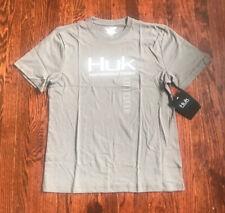 NWT$20 Mens Huk Performance Fishing Tee Shirt Size Medium
