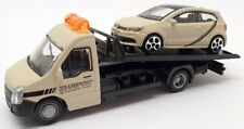 Burago 1/43 Scale #18 31400 - Volkswagen Polo Gti Car And Generic Flatbed Truck