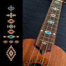 Native American Style Ethnic Fret Markers Inlay Sticker For Ukulele (Natural)