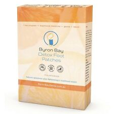 Detox Foot Patches 7 Pairs (14 Patches) BYRON BAY