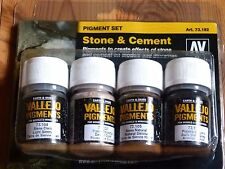 AV Vallejo Stone & Cement Pigment Set For Models