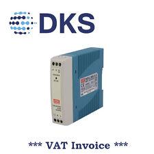 Meanwell MDR-10-15 10W 15 Vcc/0.67A PSU Guida DIN montato 000022