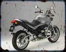 Bmw R 1200 R 3 A4 Metal Sign Motorbike Vintage Aged