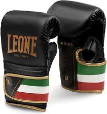 Gants de sac LEONE Boxe Italie Since 1947 Cuir Taille S - GS090 Frappe Combat