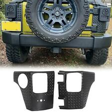 For Jeep Wrangler Jk 07-18 Rear Corner Guards Body Armor Corner Cover 4 Door (Fits: Jeep)