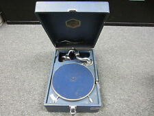 Vintage Soviet Gramophone, 1950's Cold War Antique