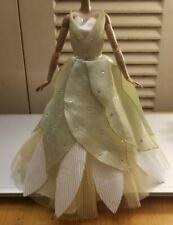 Tiana Princess and the Frog doll Dress First Edition wedding dress
