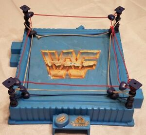 VINTAGE 1989 WWF WWE WRESTLING MANIA RING TITAN SPORTS HASBRO