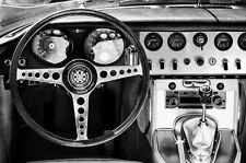 BEAUTIFUL CLASSIC E-TYPE VINTAGE CAR CANVAS PICTURE #19 STUNNING RETRO CANVAS