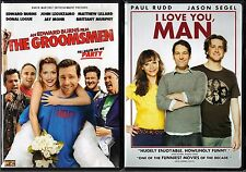 The Groomsmen (DVD, 2006) & I Love You, Man (DVD, 2009, Sensormatic); 2 Comedies