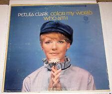 Petula Clark - Color My World LP 1967 WB Records WS 1673