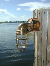 Bronze 90 Degree Pathway Nautical Dock Light- Ship light, nautical light
