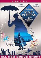 Walt Disney Mary Poppins 40TH Anniversary Edition 2 Disc  DVD Set